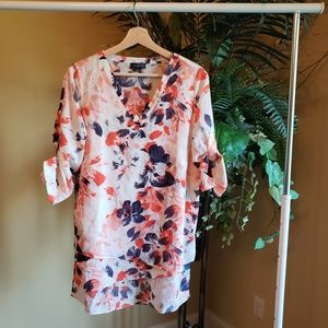 The Limited Sheer Floral Top